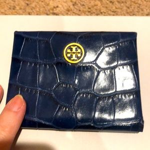 Tory Burch credit card holder new